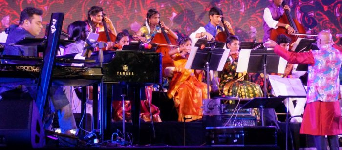 ARR and Sunshine Orchestra and conductor Srinivasa Murthy