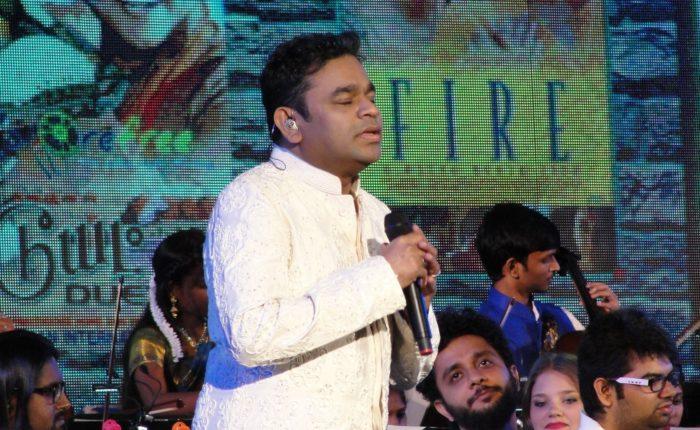 ARR in white Jai Ho