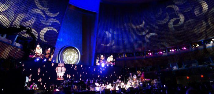 qawwali crescents across the UN GA